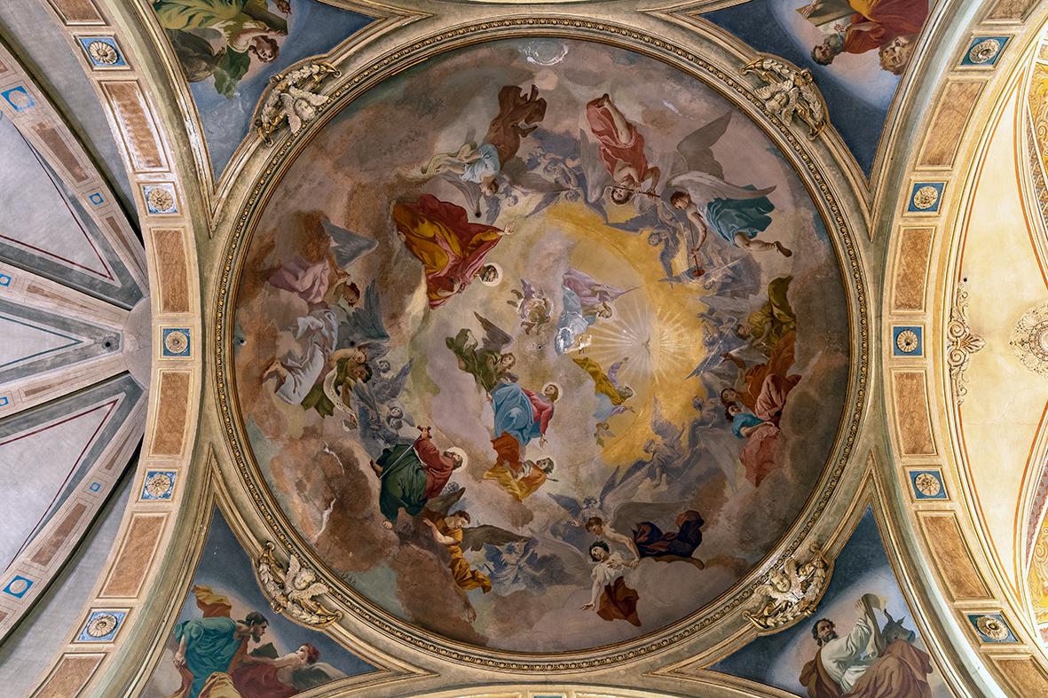 San Pietro e San Paolo nella Gloria del Paradiso